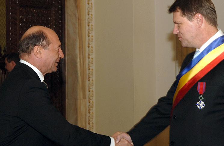 Băsescu și Johannis au girat complotul împotriva ordinii constituționale