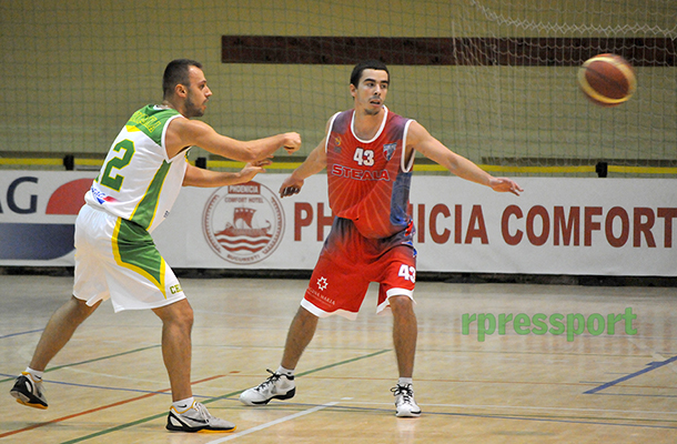Liga Națională de Baschet Masculin / Concordia Chiajna / Steaua