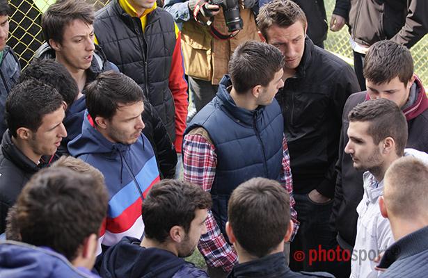 Studenții greviști / Sportul Studențesc
