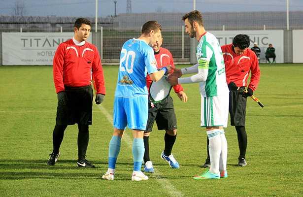 Concordia Chiajna - Terek Grosnîi 2-2 / Startul meciului