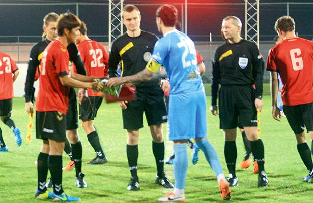 Amical Concordia Chiajna -  FC Gyeongnam 2-1 / Debut Ove Marin
