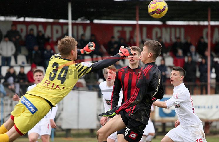 Dinamo învinge Viitorul Domnești cu 1-0