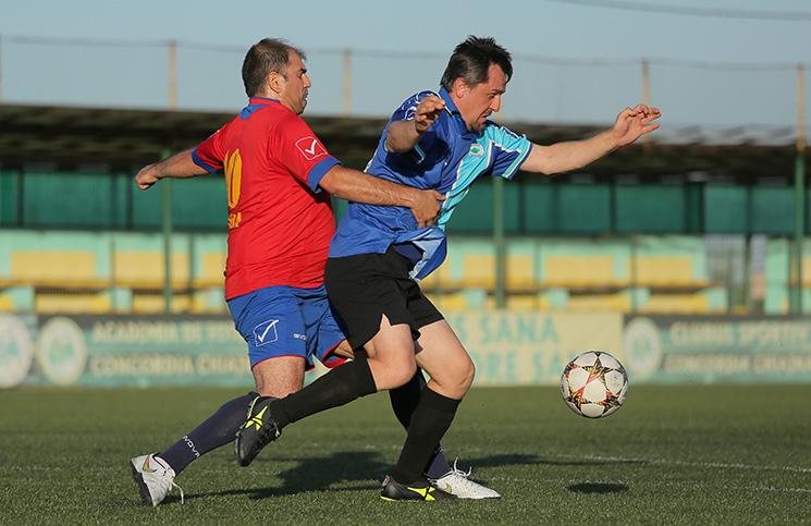 AS Galaxya - FC Union 7-4 / Remus Safta și Dorin Borcilă
