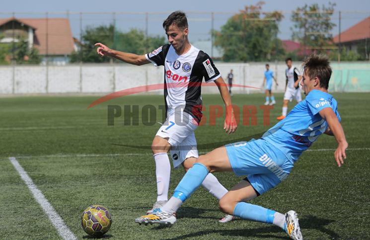 U19 / Concordia Chiajna - Viitorul Constanța 1-2 / Duel între Ciobanu și Ilie