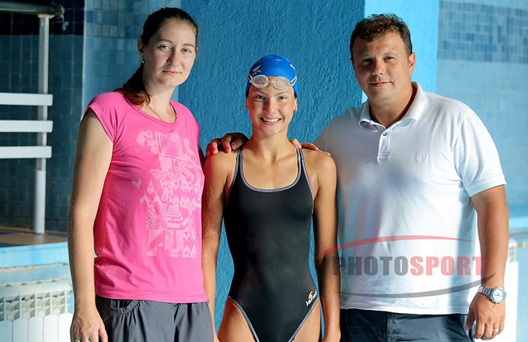 Iulia Becheru, Claudia Gâdea și Cătălin Becheru
