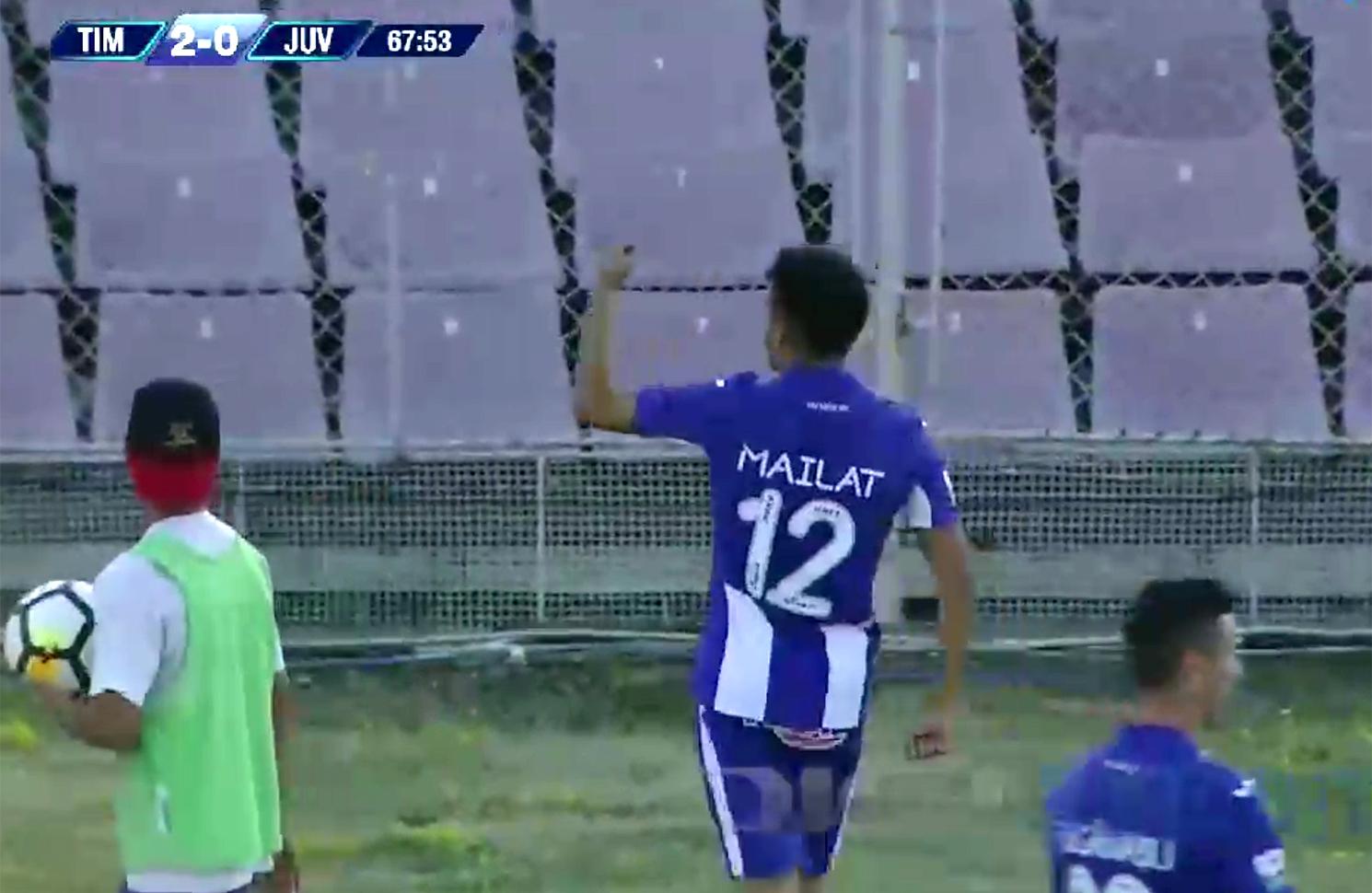 ACS Poli Timișoara - Juventus 2-1 / Sebastian Mailat
