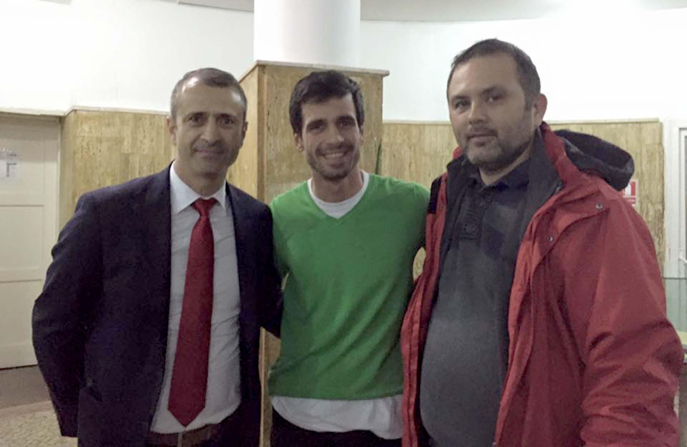 Gabriel Bodescu, Claudiu Baboia și Justin Gafiuc / AMFB