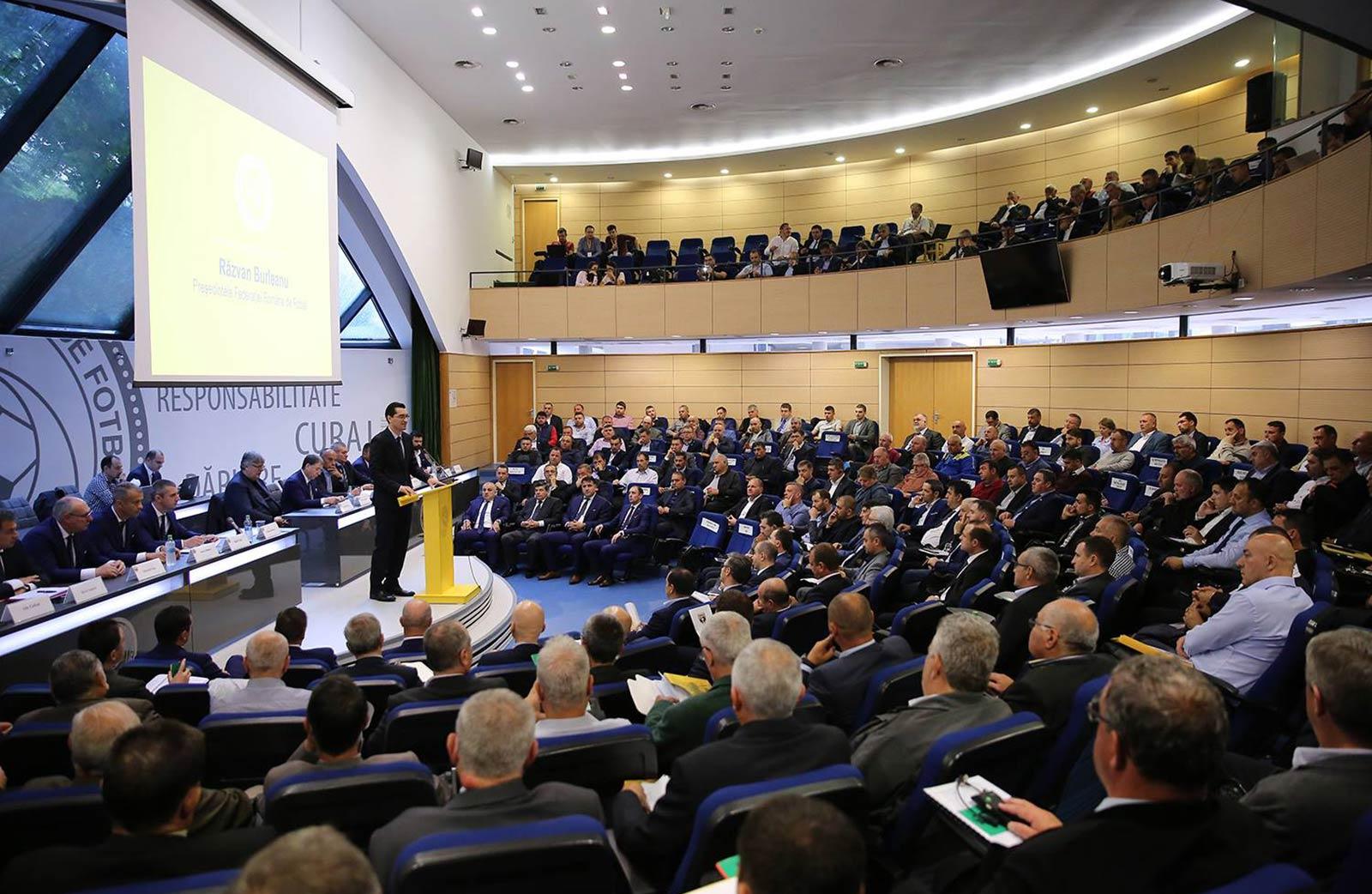 Adunare Generală FRF / Răzvan Burleanu
