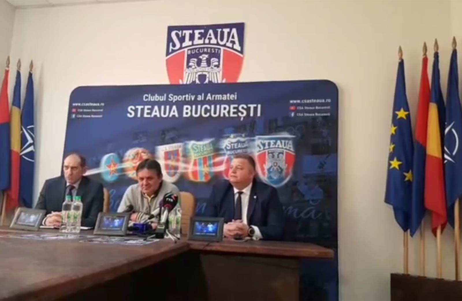 Stănel Petrea / CSA Steaua, România, UE, NATO