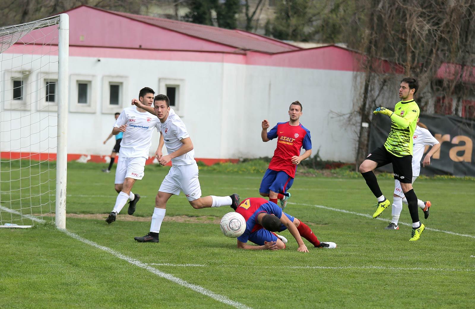 Meciul dintre ACS FC Dinamo și AFC Asalt s-a desfășurat pe un stadion neomologat