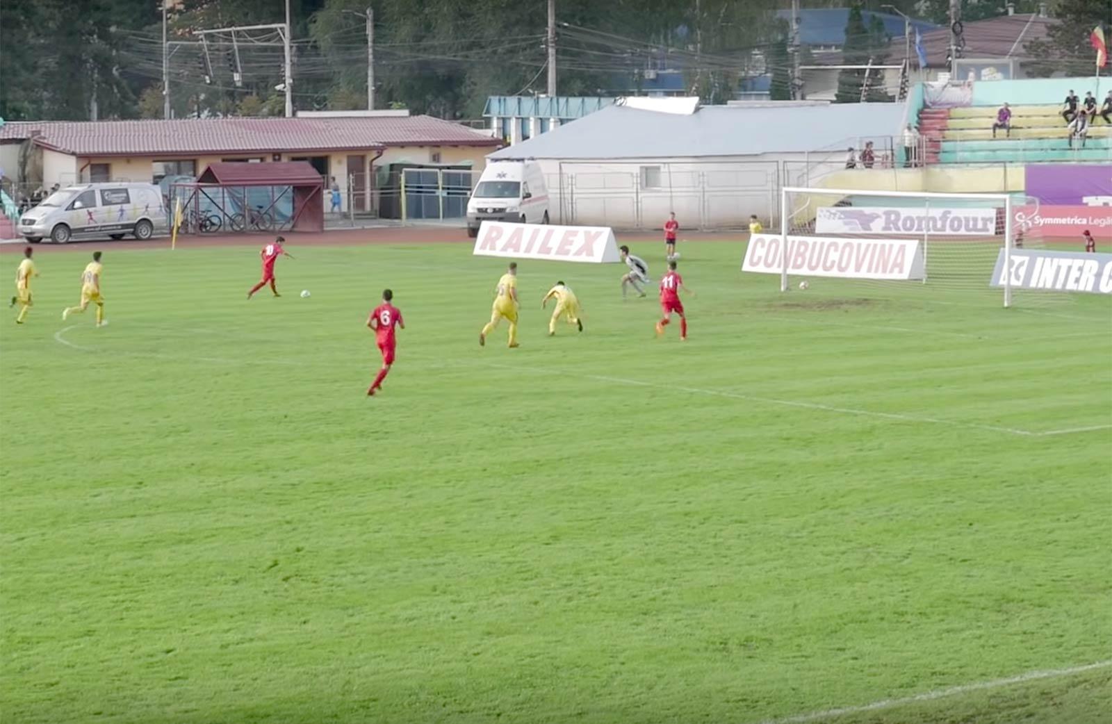 U15 România - Moldova 0-6