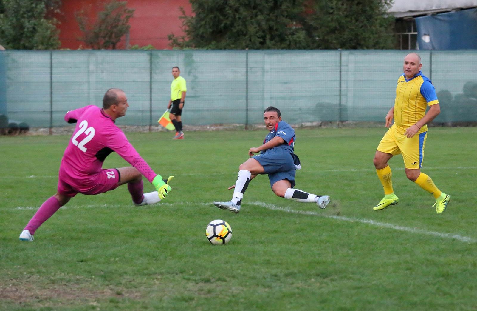 FC Union - Otopeni Oldboys 5-1 / Leo Tănase