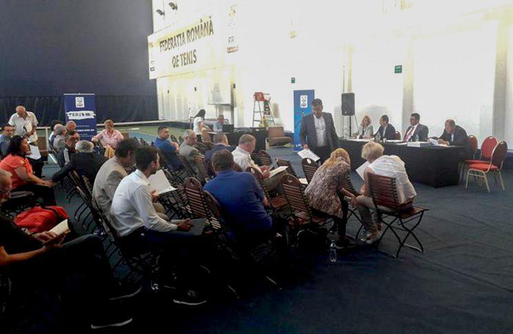 Adunare Generală la FR Tenis