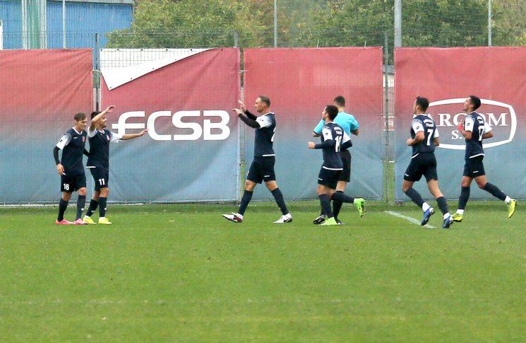 FCSB II - CS Tunari 2-4 / Nelu Bucă